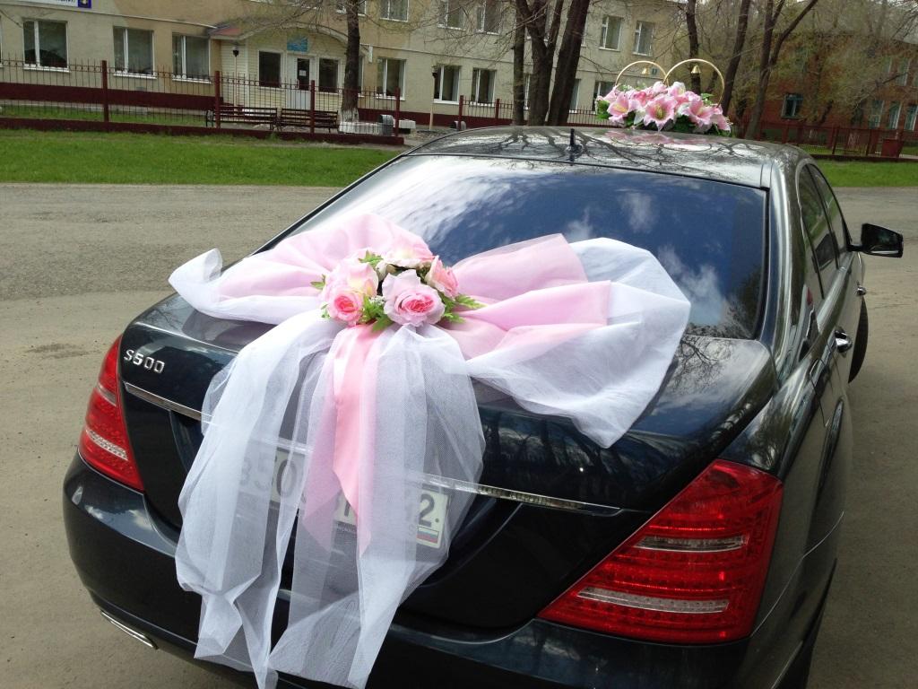 Свадебное оформление машин своими руками 48